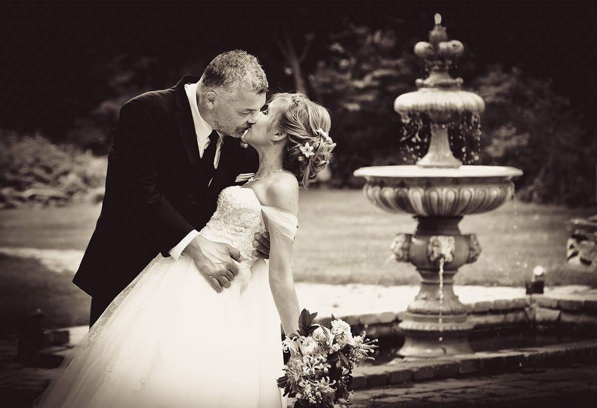 Wedding, done by Gillian.